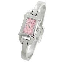 グッチ時計レディースGUCCIYA0685866800シリーズ腕時計ウォッチピンクパール/シルバー