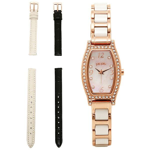 フォリフォリ 時計 レディース FOLLI FOLLIE WF14B022BSW WINTER WISHES ウィンターウィッシーズ 腕時計 ウォッチ ホワイト/ゴールド:1&one