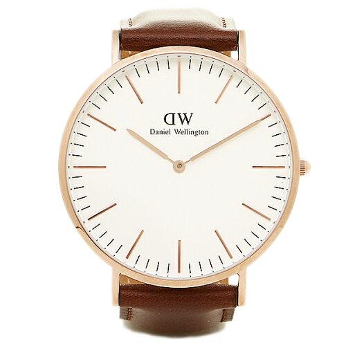 ダニエルウェリントン 時計 メンズ/レディース Daniel Wellington 0106DW CLASSIC 40mm 腕時計 ウ...