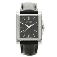 グッチ時計メンズGUCCIYA138503Gタイムレス腕時計ウォッチブラック/シルバー