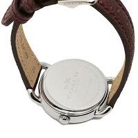 コーチ時計レディースCOACH14502252デレンシー腕時計ウォッチボルドー/シルバー