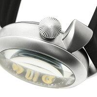 ガガミラノ時計メンズGAGAMILANO5040.2-BLKRUBBERDIVINGダイビング48MM手巻き腕時計ウォッチブラック/シルバー/イエロー