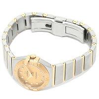 オメガ時計レディースOMEGA123.20.24.60.58.001CONSTELLATIONコンステレーションクオーツ腕時計ウォッチシルバー/ゴールド