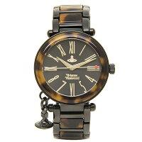 ヴィヴィアンウエストウッド時計レディースVIVIENNEWESTWOODVV006BKBR腕時計ウォッチブラック/ブラウン
