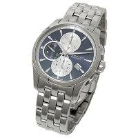ハミルトン時計HAMILTONH32596141ジャズマスターオートクロノ腕時計ウォッチブル-/シルバ-