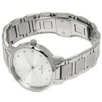 ケイトスペード時計KATESPADEKSW1046GRAMERCYSCALLOPEDグラマシー腕時計ウォッチシルバー