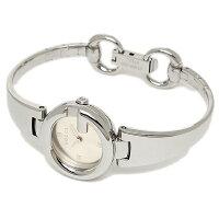 グッチGUCCI時計腕時計レディースYA134502GUCCISSIMAウォッチブラック/シルバー