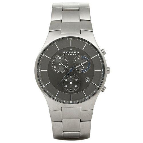 スカーゲン 時計 SKAGEN SKW6077 AKTIV アクティブ メンズ腕時計 ウォッチ シルバー/ブラック