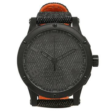 エンジェルクローバー 時計 ANGEL CLOVER EV46BBK-BD エクスベンチャー クォーツ メンズ腕時計 ウォッチ ブラック/オレンジ