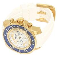 エンジェルクローバー時計ANGELCLOVERSC47YBU-WHシークルーズクォーツメンズ腕時計ウォッチホワイト/ブルー/ゴールド