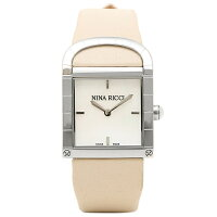 ニナリッチ時計NINARICCIN049003SMレディース腕時計ウォッチシルバ−/ピンク