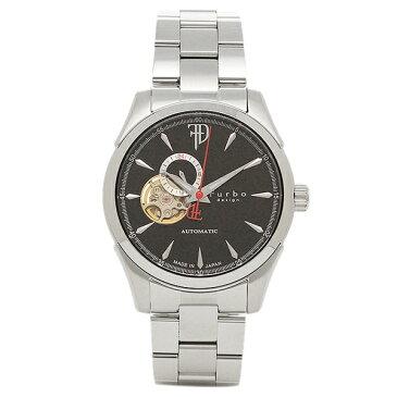 フルボデザイン 時計 Furbo design F5029BKSS 自動巻き メンズ腕時計 ウォッチ シルバー/ブラック