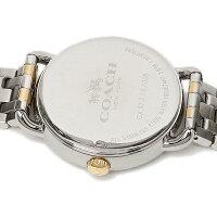 コーチ時計COACH14502263DELANCEYデランシーレディース腕時計ウォッチアイボリー/シルバー/イエローゴールド
