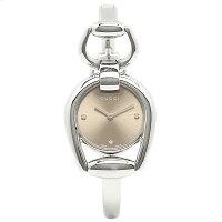 グッチレディース腕時計GUCCIYA139509ブラウンシルバー