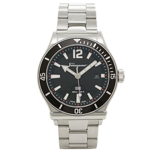 フェラガモ 腕時計 Salvatore Ferragamo FF3130014 シルバー ブラック:1&one