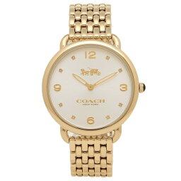 COACH コーチ 腕時計 レディース 14502786 イエローゴールド