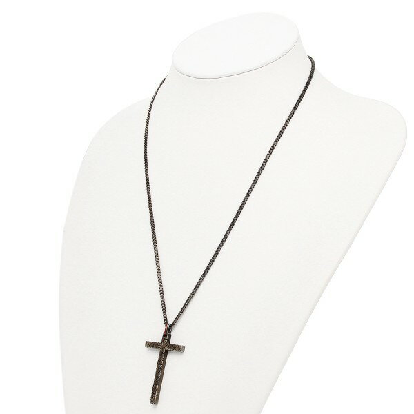 91fda1f1a 1andone: GUCCI necklace Gucci 310484 J89L0 8518 Diamante cross motif ...