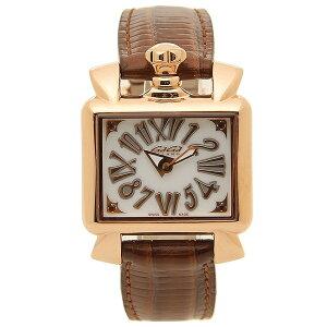 GAGA MILANO 腕時計 レディース ガガミラノ 6036.02 ブラウン ホワイト