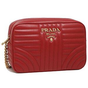 PRADA普拉达(PRADA)女士肩包1BH083IOI 2D91 27W红色