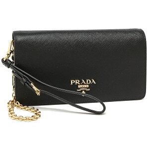 PRADA Shoulder Bag Ladies Prada 1DH029 QWA F0002 Black