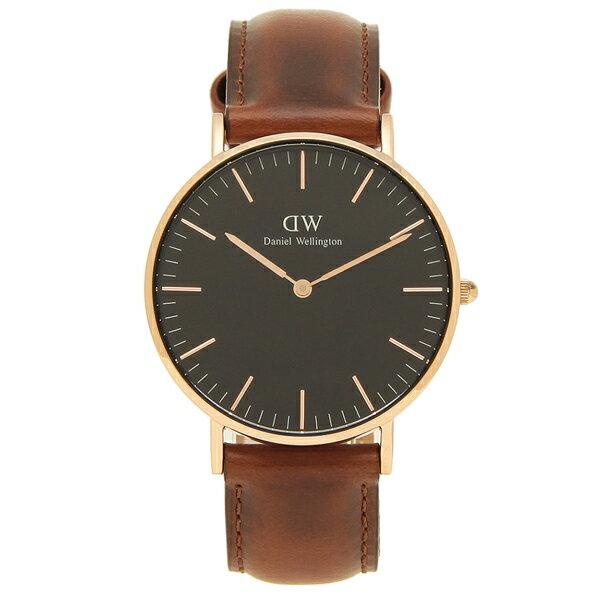 DanielWellington腕時計レディースメンズダニエルウェリントンDW00600136ブラウンブラック