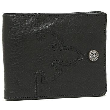 CHROME HEARTS 折財布 メンズ クロムハーツ 116295 BLACK ブラック
