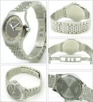 ・【送料無料】GUCCIグッチYA126406ミディアムバージョンGタイムレスコレクション腕時計メンズウォッチシルバー/ブラウン/シルバー【_包装】【new0802】