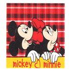 【在庫限り】ミッキー&ミニー毛布【140×200】