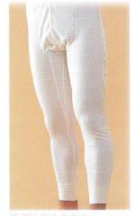 紳士ズボン下 LLワンタッチ肌着 高級エジプト綿最高の肌ざわり無蛍光生地使用