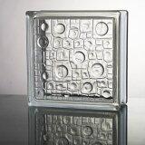 【送料無料】6個セット ガラスブロックガラス 厚み80mm