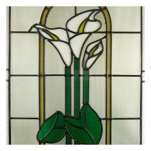 【送料無料】ステンドグラスステンドグラスステンドガラスデザインパネル500x400