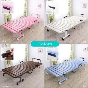 すのこベッド折りたたみシングル折りたたみ樹脂すのこベッドカラー4色