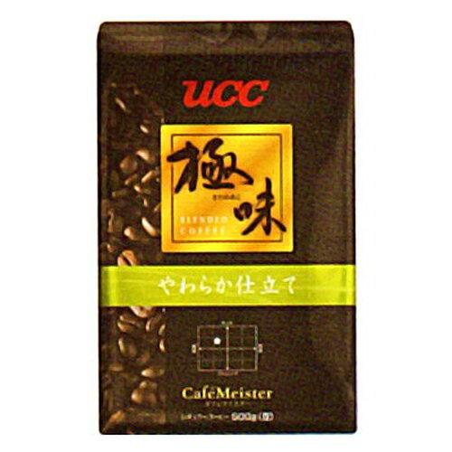 UCC上島珈琲 UCC極味 やわらか仕立て(豆)AP500g 12袋入り UCC310478000:インテリアの壱番館