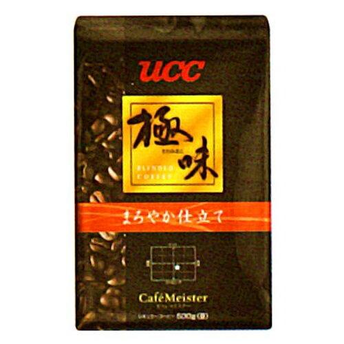 UCC上島珈琲 UCC極味 まろやか仕立て(豆)AP500g 12袋入り UCC310479000:インテリアの壱番館
