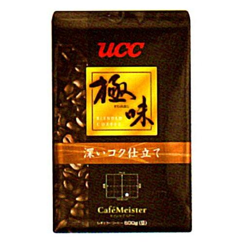 【ポイント20倍】UCC上島珈琲 UCC極味 深いコク仕立て(豆)AP500g 12袋入り UCC310480000