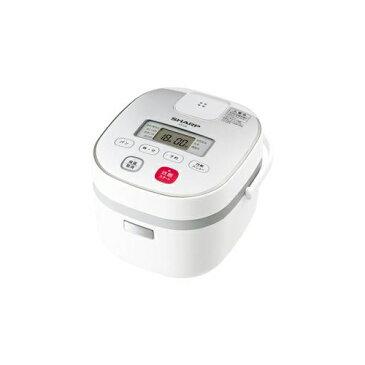 SHARP KS-C5L-W ジャー炊飯器 (3合炊き) ホワイト系