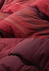茜レッド(red)215×255掛け布団のみ★綿100%無地調国産こたつ布団送料無料日本製(和風)