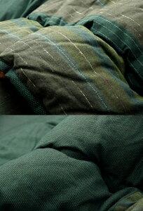 萌黄グリーン(green)215×295掛け布団のみ★綿100%無地調国産こたつ布団掛敷セット送料無料日本製(和風)