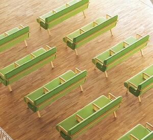 三人掛肘無ローバックロビーチェア/ソファー業務用家具:sofa/lobbyシリーズ★コルエスト送料無料完成品日本製受注生産別張品