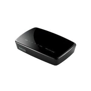 エレコム 11n対応無線LAN中継器 WRC-300FEBK-R
