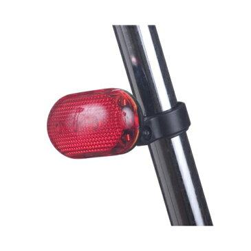 YAZAWA 自転車用LEDライト 赤色LED×3灯 LB201RD