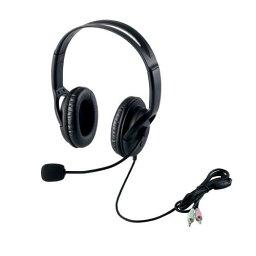 【クーポン配布中&マラソン対象】エレコム ヘッドセット(両耳大型オーバーヘッドタイプ) HS-HP28BK