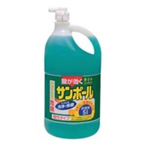 【ポイント20倍】(業務用20セット)大日本除蟲菊 サンポール 業務用 5L:インテリアの壱番館