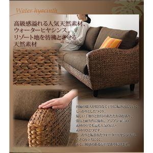 【代引不可】ウォーターヒヤシンスシリーズ【Wyja】ウィージャソファ2人掛け