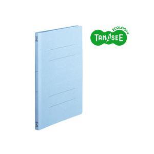 (まとめ)TANOSEEフラットファイル[スタンダードカラー]A4タテ150枚収容コバルトブルー10冊入×20個