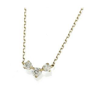 K18YG0.2ctダイヤモンドプレミオールペンダント