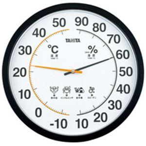 【エントリーでポイント最大35倍】温湿時計★35cm