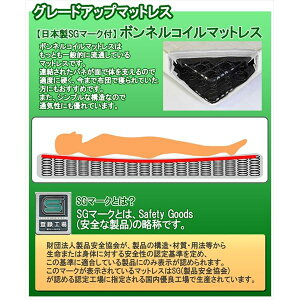 棚照明付ラインデザインベッドシングルSGマーク国産ボンネルコイルマットレス付ダークブラウン285-56-S(10816B)【】