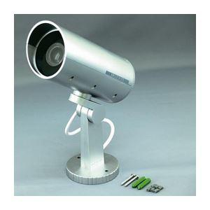 (まとめ)スマイルキッズ 防雨ダミーカメラ ADC205【×2セット】