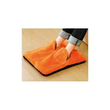 【ポイント20倍】ホットマルチヒーター/暖房器具 【オレンジ】 無段階温度調節 ダニ退治機能・室温センサー付き 洗えるカバー 日本製【代引不可】